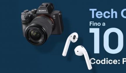 eBay: Tech Coupon fino a 100 euro