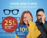 GrandVision: Ottobre è il mese della vista, buono sconto da 25 euro