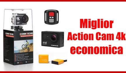 ICONNTECHS IT 4k: la migliore action cam economica, accessori inclusi