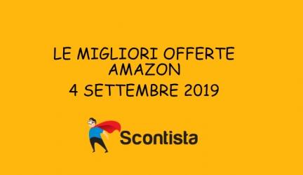 Riparti alla grande: le migliori offerte Amazon di oggi 4 settembre