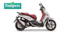 Questa estate sfreccia con Pampers: in palio scooter e caschi