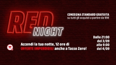 MediaWorld: iniziata la RED Night