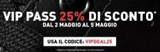 Foot Locker sconto VIP del 25% fino al 5 Maggio